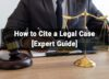 How to Cite a Legal Case