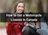 How to Get A Motorcycle License In Canada