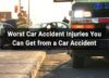 Worst car accident injuries
